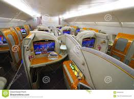 Airbus A 380 Interior Emirates Airbus A380 Interior Editorial Stock Photo Image 59963453