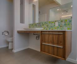 backsplash ideas for bathrooms bathroom backsplash ideas bathroom midcentury with ada vanity