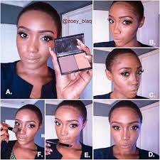 the blackrose how to highlight and contour my routine pictorial