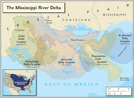mississippi delta formations national geographic society