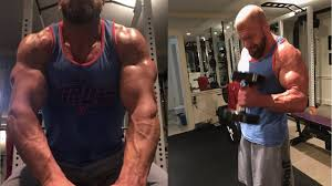 bill goldberg muscular development workout triple h workout 2017 wrestlemania 33 youtube
