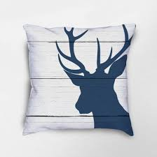 deer throw pillow deer decor stag pillow rustic deer