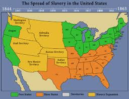 map us states during civil war 1860 mrlincolnandfreedomorg lincoln home national historic site
