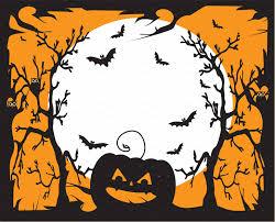 halloween background art halloween background with pumpkin graphics creative market