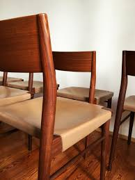 furniture cozy vintage leather dining chairs photo dining