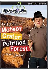 Backyard Science Dvd Awesome Science Explore Meteor Crater And Petrified Forest