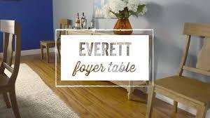 everett foyer table world market