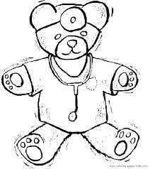 free coloring picture doctor equipment yahoo image