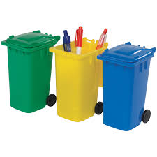 Desk Tidy Set Wheelie Bin Desk Tidy Item No 701117 From Only 89p Ready To Be