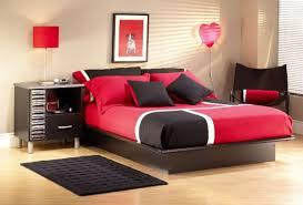 Red Rugs For Bedroom Bedroom Contrast Bedroom Wooden Bed Frame Wooden Nightstand