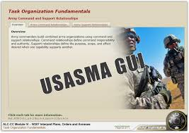 Army Alms Help Desk by Structured Self Development And Advanced Leaders Course U2013 Common