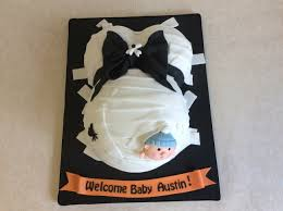 cute halloween theme baby bump cake for baby shower baby shower