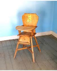 Wooden High Chair For Sale Tis The Season For Savings On Vintage Wooden High Chair Mid