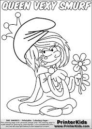 299 smurfs coloring pages images drawings