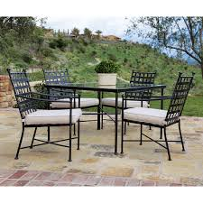 wrought iron square dining table sonoma collection