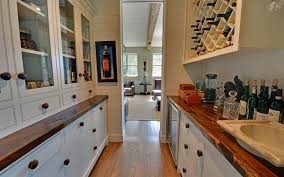 Wood Countertops Kitchen by Rustic Wood Countertops Kitchen Rustic With Barstool Farmhouse