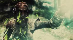 wrath of nature the path of the druid at skyrim nexus mods and