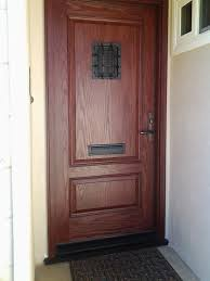 Rustic Iron Mail Slot Outdoor - fiberglass front entry door with mail slot porch ideas
