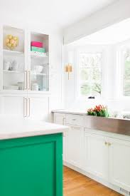 green kitchen islands kitchen design with green kitchen island home bunch interior