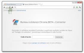chrome bureau à distance bureau à distance chrome propose la prise en de pc en