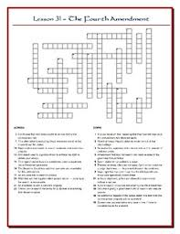 the people lesson 31 worksheet puzzles 4th and 5th amendments