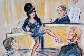 as tv trials threaten to kill off courtroom sketches we look back