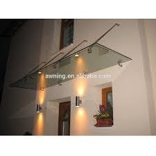 glass door canopies mental frame glass door canopy with high peak buy polycarbonate