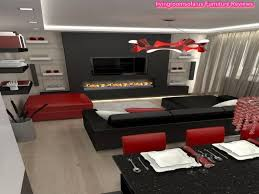 black living room decor red and black living room decorating ideas 17 red black and white