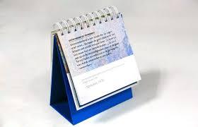 calendrier de bureau personnalisé services d impression à spirale personnalisés de livre calendrier de