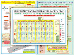 Evacuation Floor Plan Template Compliance Related Safety Sign Risk Assessment Policy And Fire