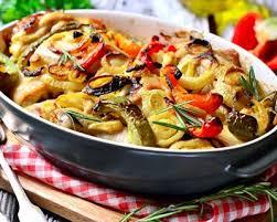 cuisiner cuisse de poulet au four recette cuisses de poulet et légumes rôtis au four facile rapide