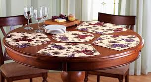 Placemats For Round Table Briliant Placemats Dining Table Mats Dining Table Design Ideas