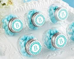 jar favors personalized mini glass favor jar wedding favors by kate aspen
