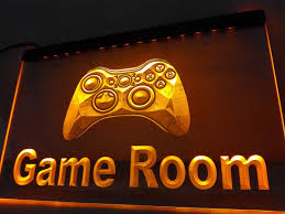 online shop lk984 game room console led neon light sign home