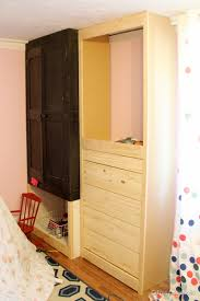 Diy Built In Cabinets by Remodelaholic Built In Closet Hack