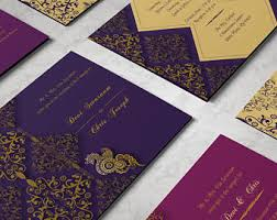 indian wedding invitations indian wedding invitations etsy ca