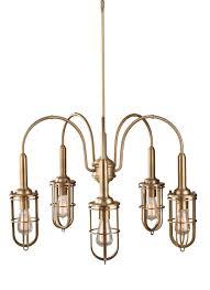 Brass Chandelier F2826 5dab 5 Light Urban Renewal Chandelier Dark Antique Brass