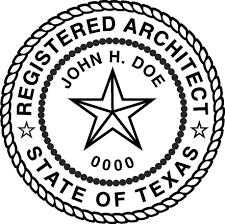Architect Signature Tbae Professional Seal