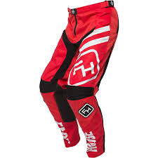 motocross gear set new fasthouse mx speed style red black jersey pants vented