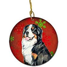 great gifts for bernese mountain ornaments
