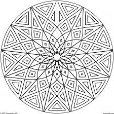 geometric coloring pages adults 6 coloring pages