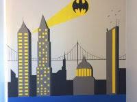 batman color scheme kids bedroom room wallpaper mask led wall
