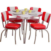 50 s kitchen table and chairs 50 s diner furniture table and chairs for retro dining inspirations