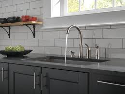 delta bellini kitchen faucet 11946 sssd dst single handle kitchen faucet with spray soap