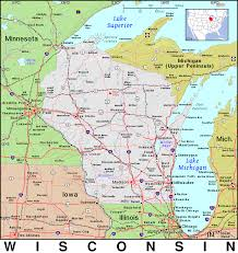 Wisconsin Maps by Wi Wisconsin Public Domain Maps By Pat The Free Open Source
