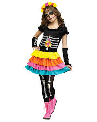 day of the dead child costume at spirit halloween dance