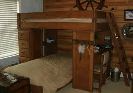 Kid Bunk Beds With Desk by Wooden Bunk Beds With Desk 138 Cool Ideas For Bunk Bed Loft Lea