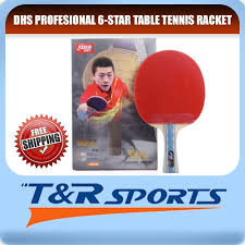 Dhs Table Tennis by Dhs 6002 Table Tennis Bat Racket Long Handle Ping Pong Free Bat
