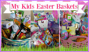 easter presents for kids what s in my kids easter baskets 2016 ages 12 8 and 7