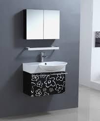 30 Inch Bathroom Vanity by Single 30 Inch Contemporary Bathroom Vanity Set With Medicine Cabinet